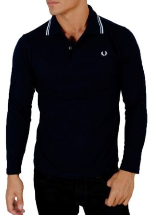 Polo Fred Perry Manica Lunga